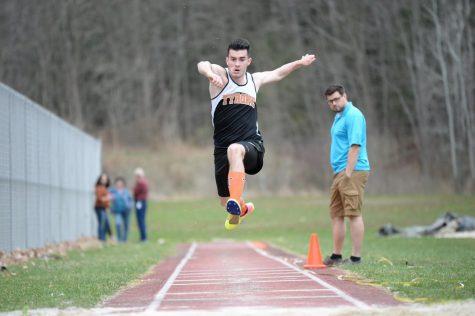 Nick Vasbinder jumping