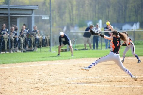 It took Baran only three seasons to become the all-time career strikeout leader in Tyrone softball history.