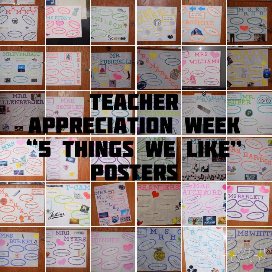 Photo Slideshow: Teacher Appreciation Week Posters