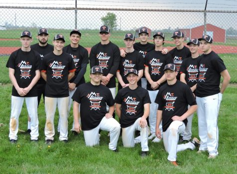Team After Receiving Mountain League Championship Shirts