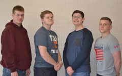 Four Golden Eagles Land Their Eagle Scout Awards