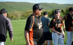 Head Baseball Coach Kevin Sollener, seen here celebrating last year's Mountain League title, was excited for what he thought might be a championship 2020 season.