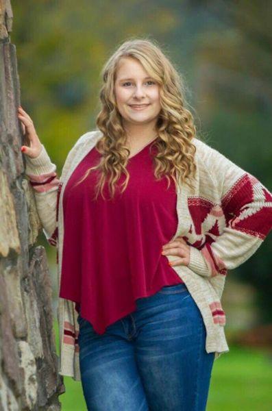 Senior Sarah McCaslin