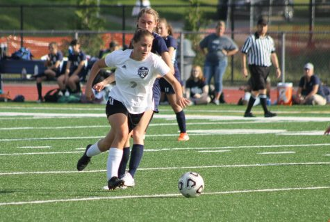Girls Soccer Scores Early But Falls Short