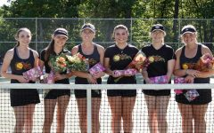 Lady Eagles Sweep Huntingdon 7-0 on Senior Night