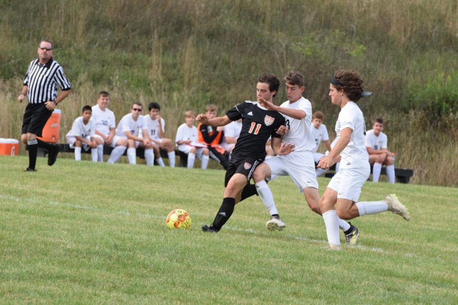 Parker Leads Boys Soccer to 5-1 Win