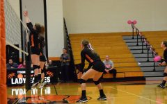 Lady Eagles Volleyball DIG PINK Game on October 10th