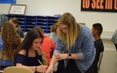 Miss Young Returns to Tyrone High as New AmeriCorps Volunteer