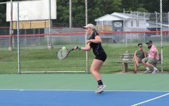 Girls Tennis Falls to Dragons