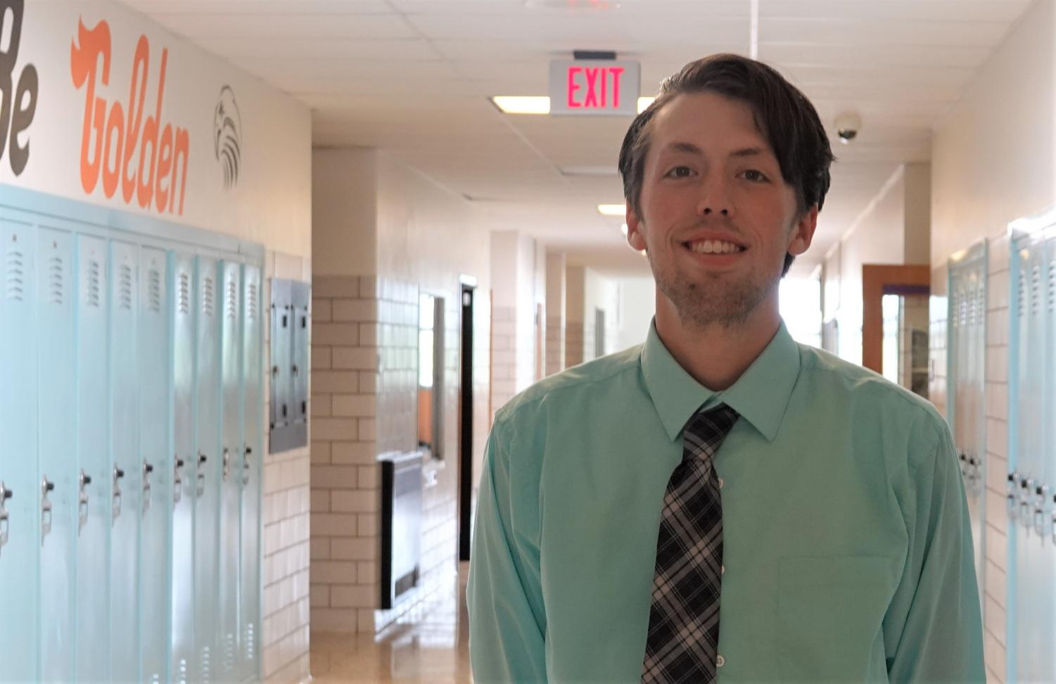 Mr. Josh King of Williamsburg is the newest member of the Social Studies Department, teaching three sections of civics and one of psychology