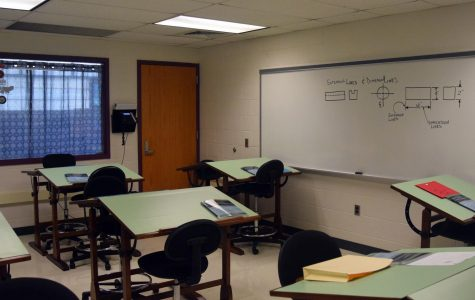 The classrooms at TAHS are empty but the teachers and students will be back to work soon