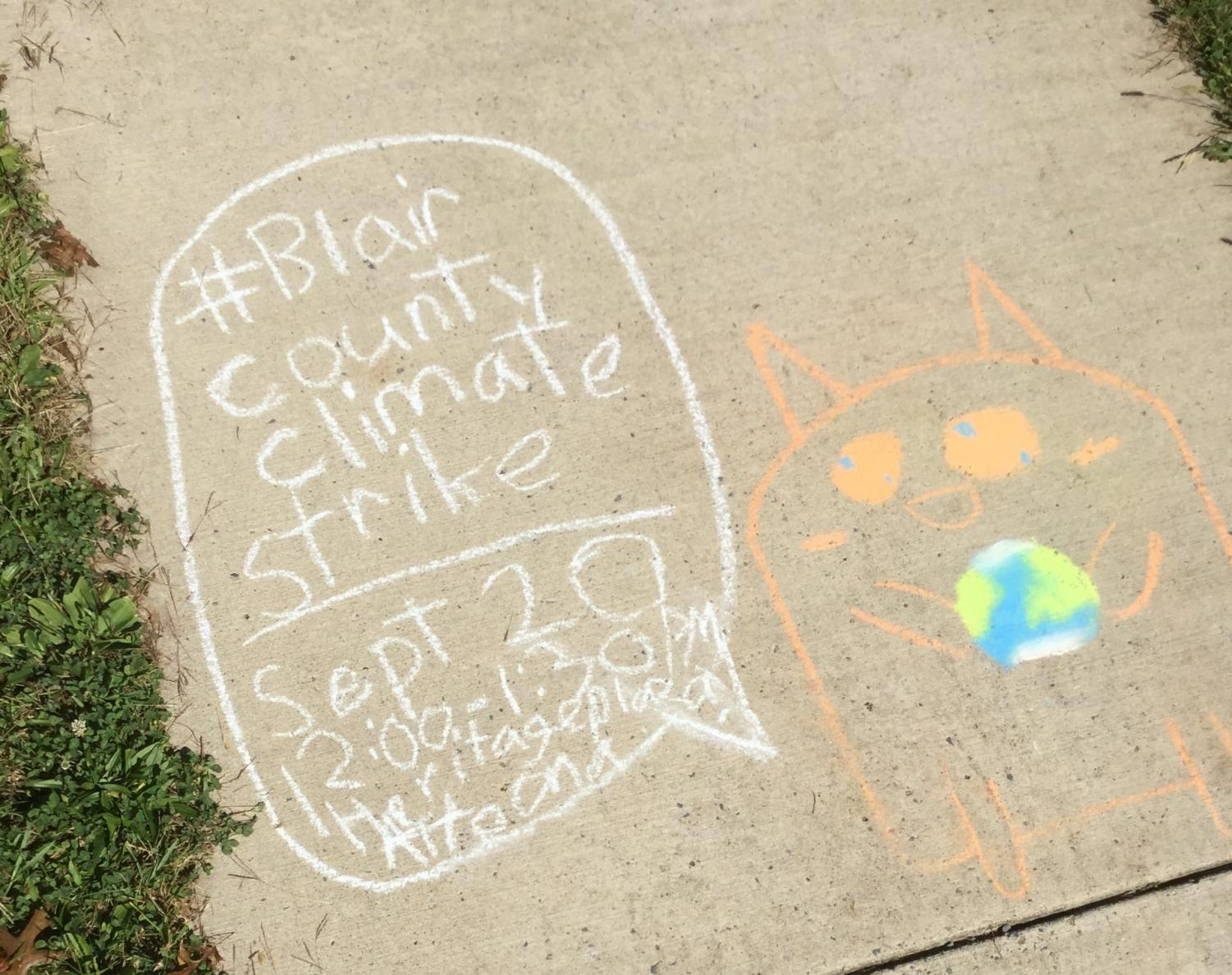 The Blair County Climate Strike will hold their first ever event on Friday.