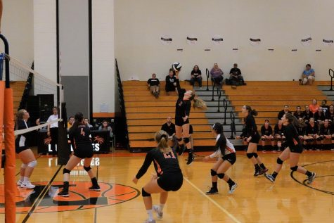 Lady Eagles Crush the Mounties