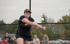 Lady Eagles Conclude Tennis Season With a Loss Against Grier