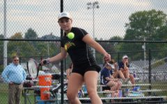 Victoria Reese gets ready to hit a forehand (file photo)