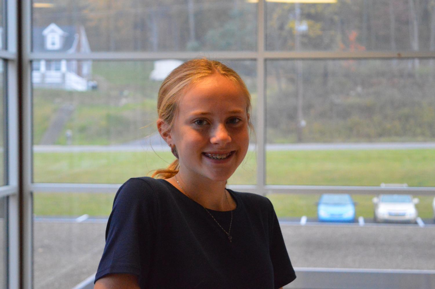 Freshman of the Week Beth Pearson is excited about the new freedom of High School and likes all of her new teachers.