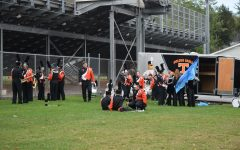 Tyrone Hosts Marching Band Competition