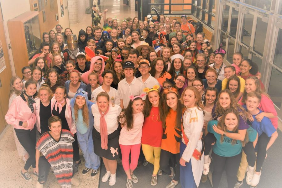 Over 100 students volunteered to make the annual YAN Halloween Night a big success.