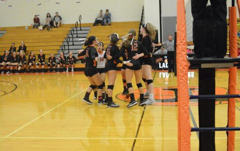 Lady Eagle's Volleyball Senior Night on October 17th