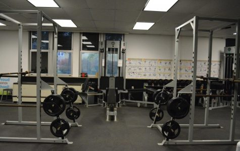 Weight To Get in Shape: Use the TAHS Fitness Room