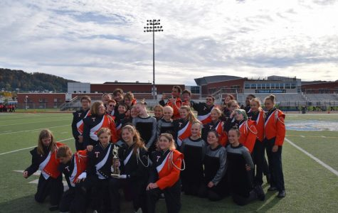 Tyrone Marching Band Places Second at Chapters Competition