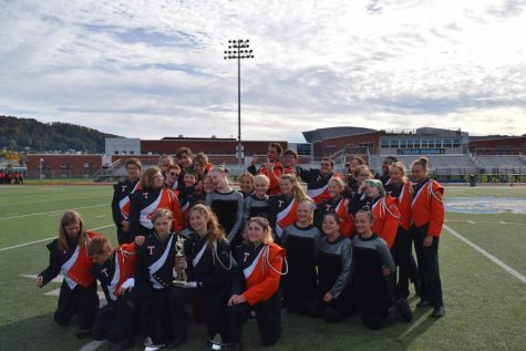 Tyrone Marching Band Places First at Johnstown High School