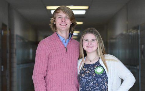 On Board: McNeel and Isenberg Serve as School Board Student Reps
