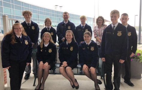Tyrone FFA Attends Fall Leadership Conference in Altoona