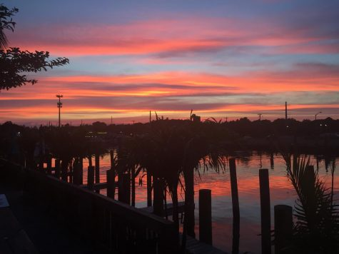 This beautiful sunset over the water was taken this summer in Ocean City, Maryland.