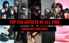 Top 10 Artists of All Time: Honorable Mentions