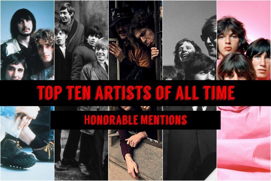 This series will count down the top ten artists of all time according to Eagle Eye writer Caleb Orr.  But first, check out the artists who almost made the list.