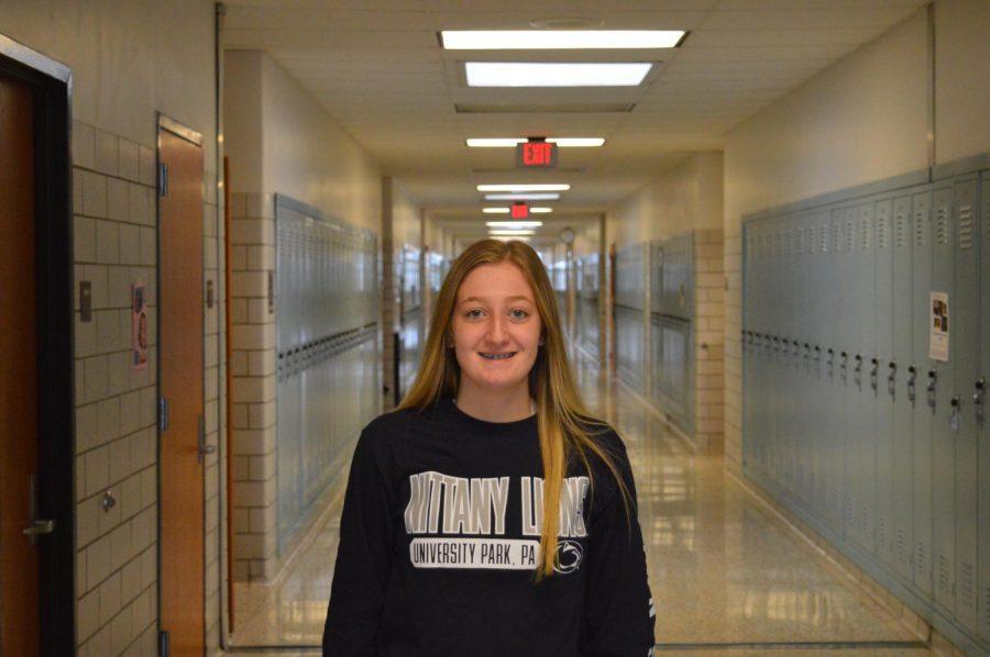 Congratulations to McKenna Yaudes on being Senior of the Week!