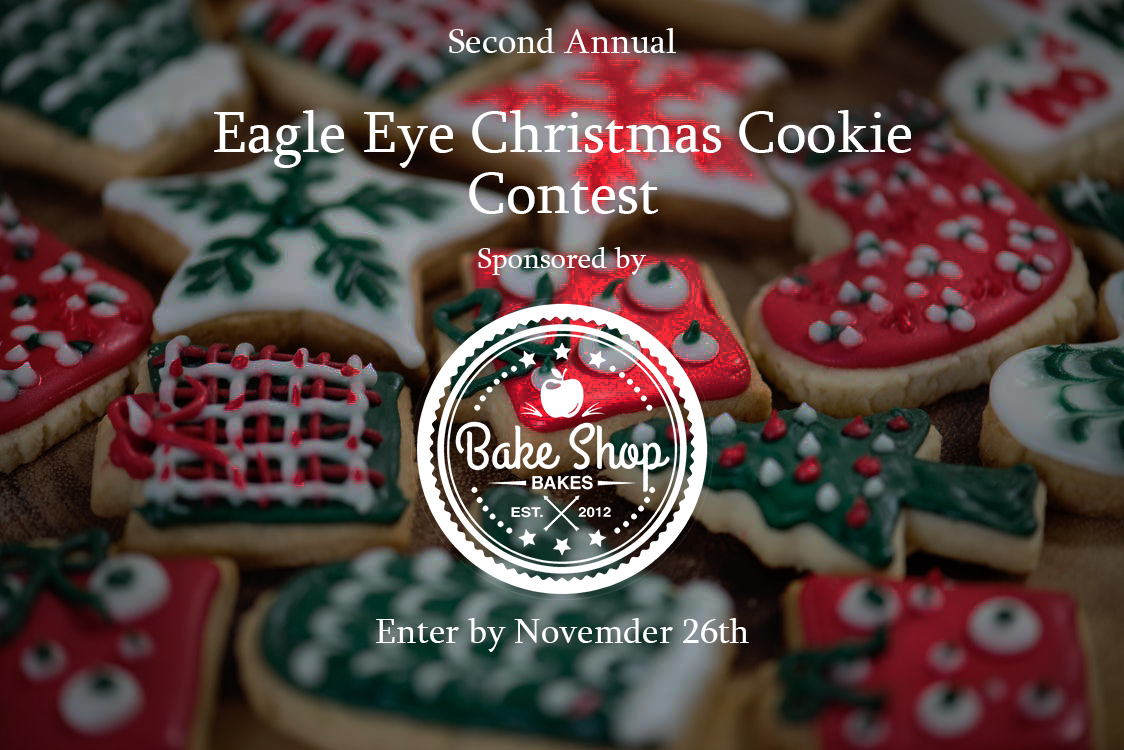 All TAHS students and staff are eligible to enter the second annual Christmas Cookie Contest.  Enter by November 26, 2019.