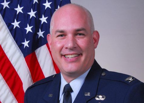Tyrone native and 1989 Tyrone Area High School alumni Col. Aaron Vance has served in the Air Force for nearly 30 years.