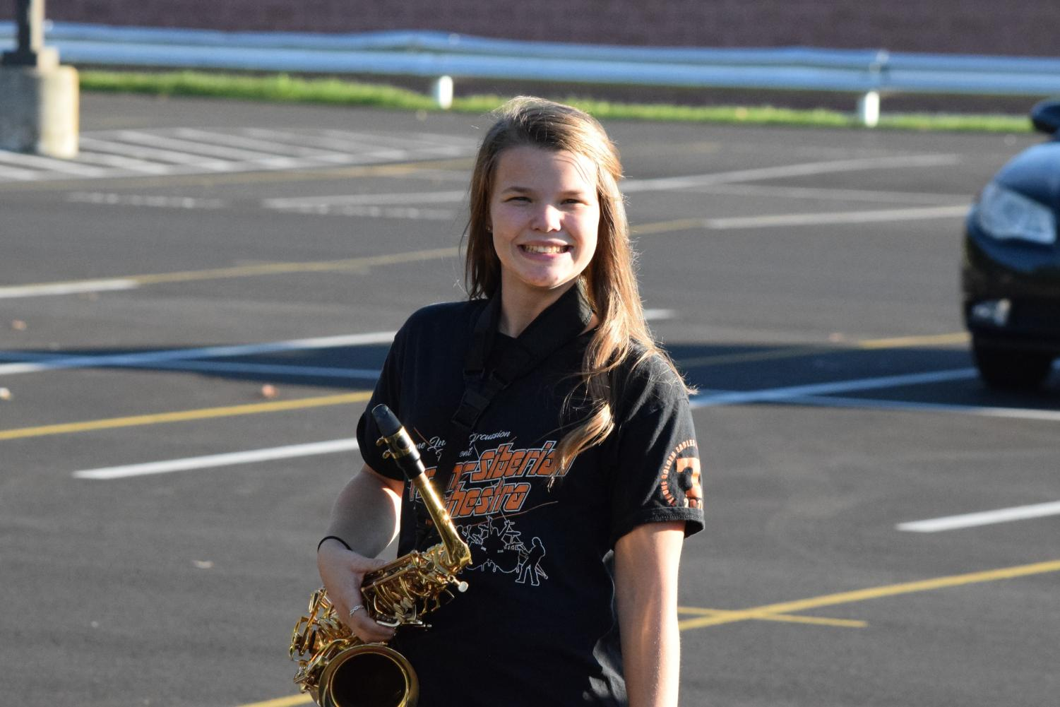 Since sixth grade Emily Detwiler could often be found after school in the high school parking lot, smiling and rehearsing.