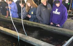 FFA Members Tour Indiana Fishery