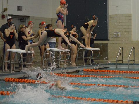 Girls Swimming Still on Top; Boys Work to Tie Altoona 85-85