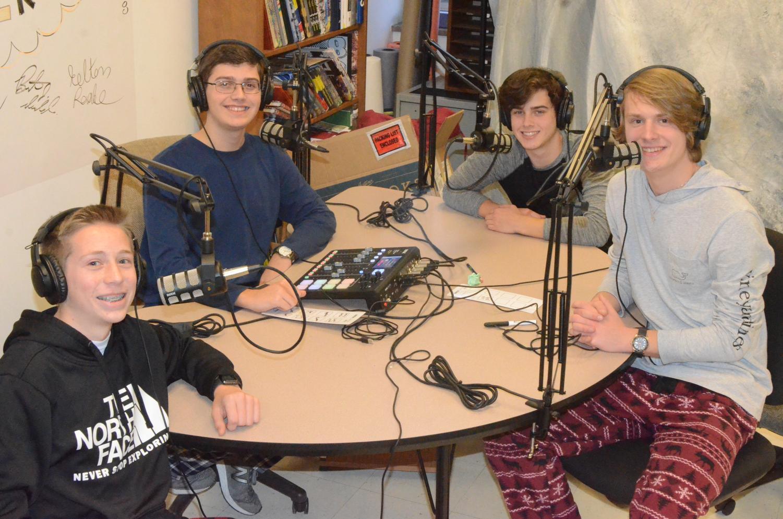 L-R: Kelton Raabe, Tyler Beckwith, Dan Parker, Brent McNeel