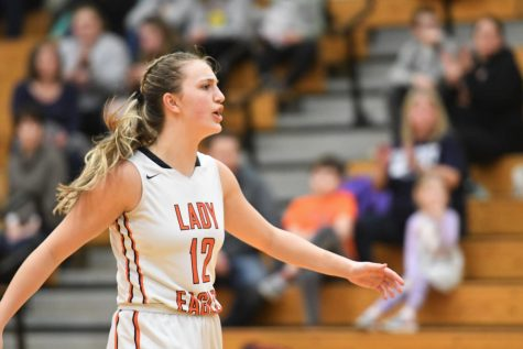 Lady Eagles Fall in Season Opener