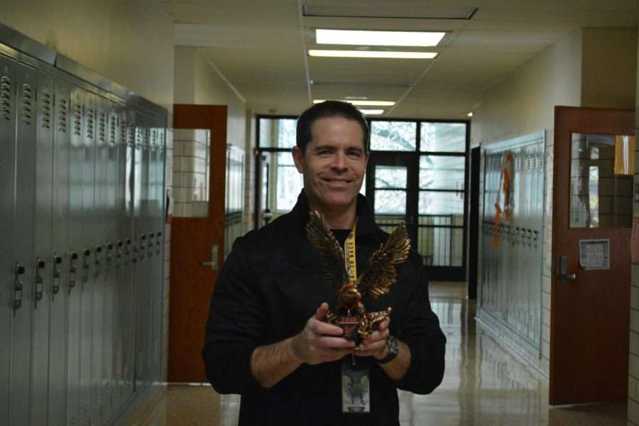 'Be Golden' Staff Member Of The Week: Mr. David Rutter