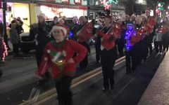Tyrone Band Makes Christmas Parade Merry