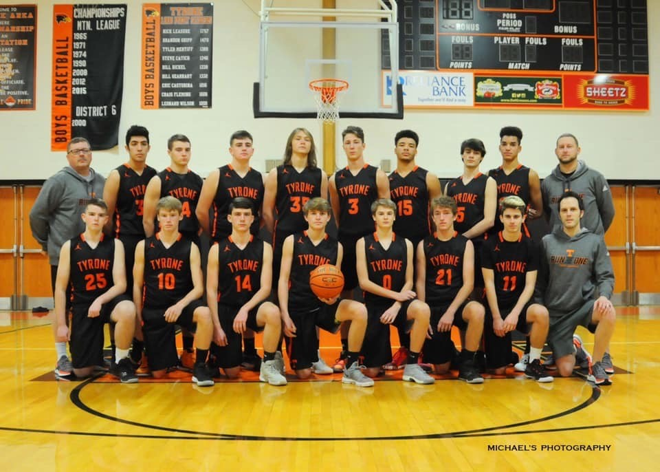 Tyrone's boys basketball team stand 4-0 and yet to be seriously contested.