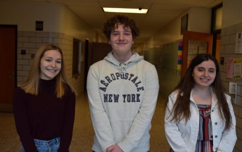 Senior Olivia Ake, junior Colin Jackson and senior Jessica Chronister all qualified for the FBLA state conference.