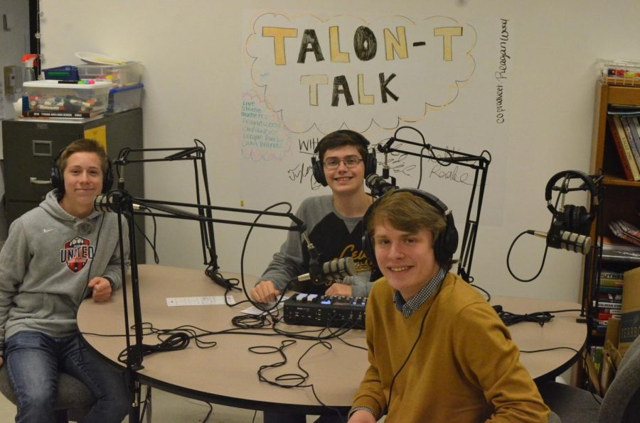 Brent McNeel, Tyler Beckwith, and Kelton Raabe host Talon-T Talk.