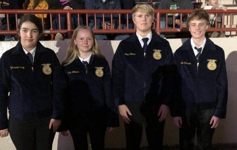 Five TAHS Freshman Receive FFA Jackets