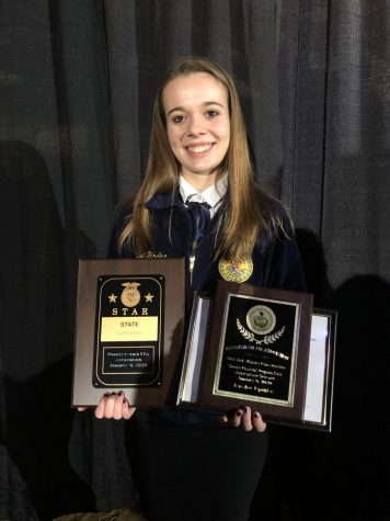 Tyrone Senior Named Pennsylvania State FFA Star in AgriScience