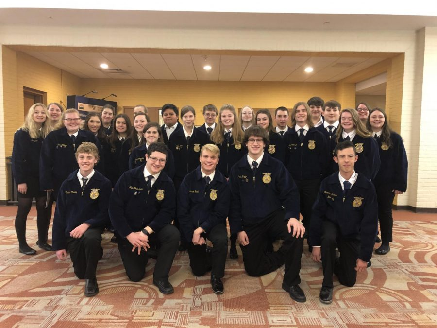 Twenty-seven+Tyrone+Area+FFA+members+competed+at+the+State+AgriScience+Fair+at+the+Pennsylvania+State+Farm+Show.