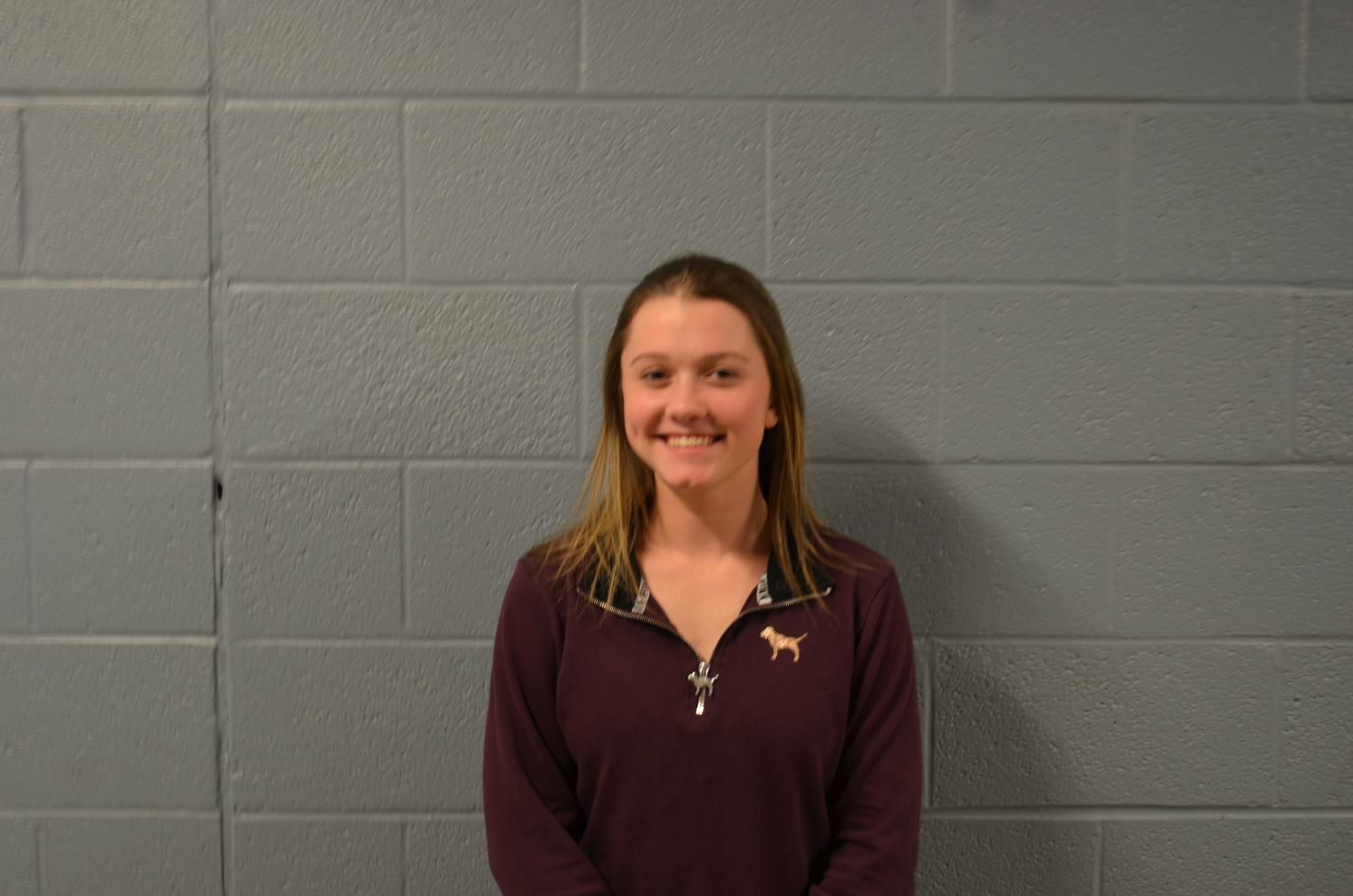 Congratulation to Brianna Foy for being Senior of the Week!