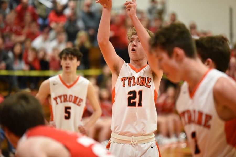 Cort Rhoades was a key player in Wednesday nights big playoff win against Central