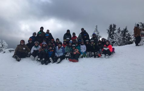Group photo of the Vermont skiers